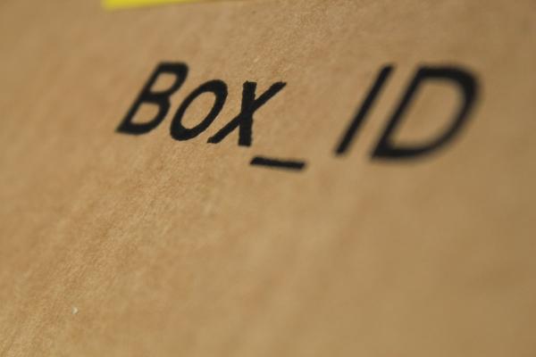 Ogni Box ha un BoxID